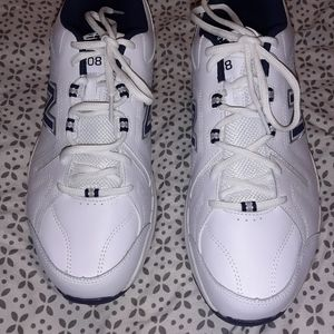 White New Balance Dad Shoes MX608WN5 Size 11